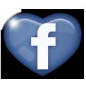 logo-facebook-heart - Wildflower Wedding Favours