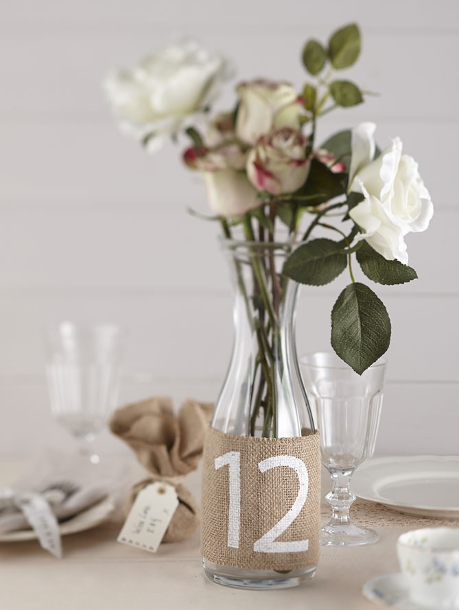 Hessian table numbers