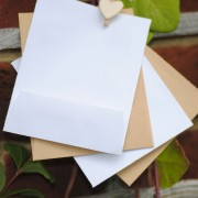 Recycled paper seed packets