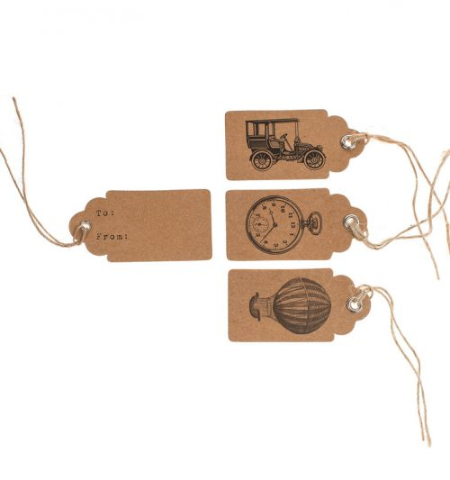Vintage wedding tags