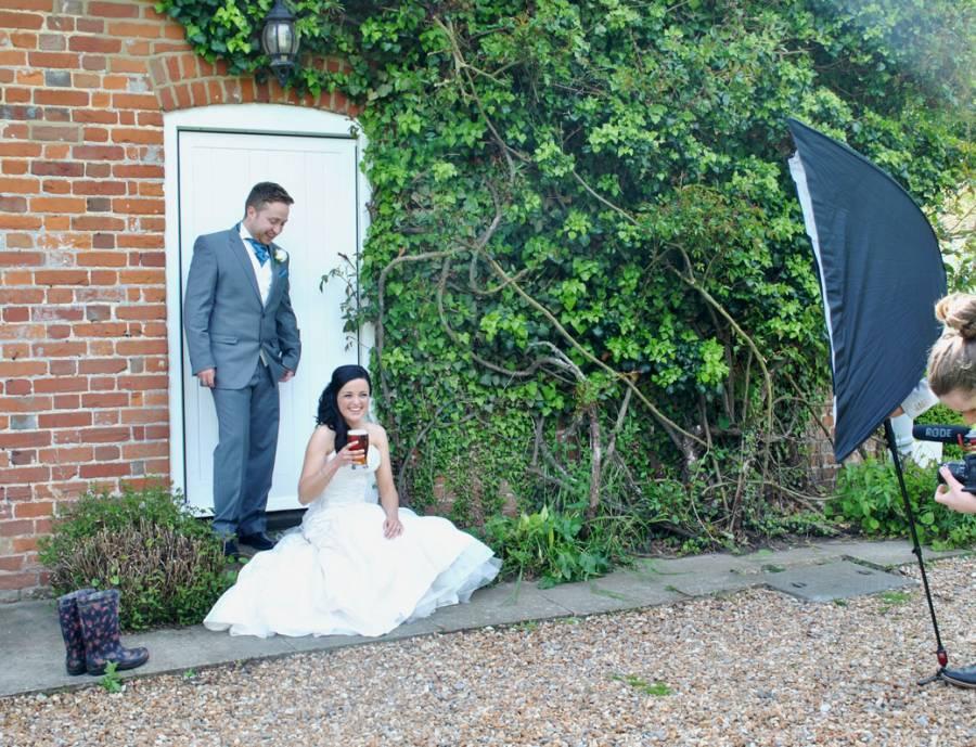 Garden wedding shoot 2