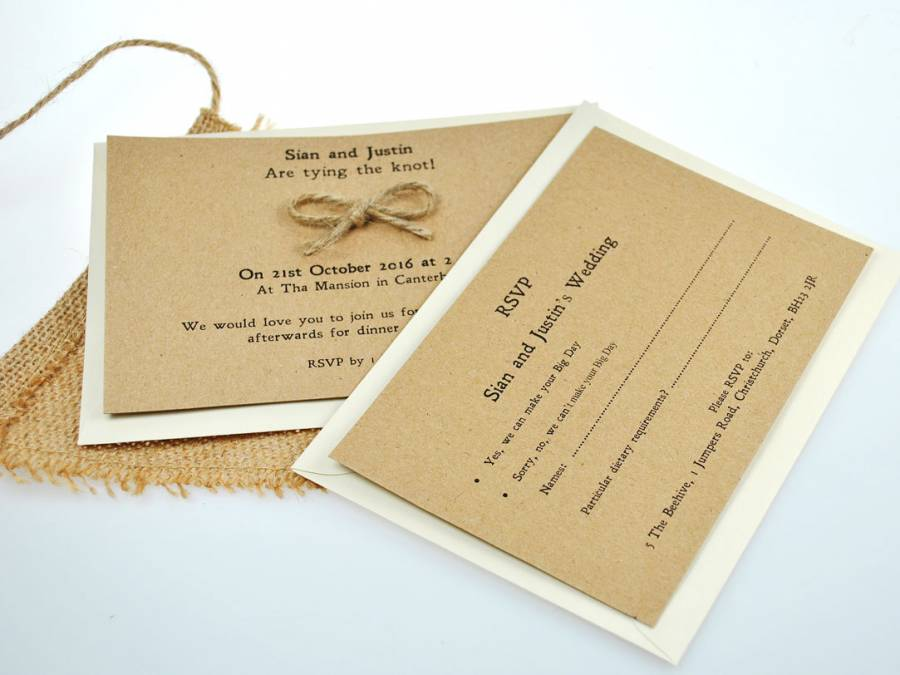Vintage, Creative & Quirky Wedding Stationery Supplies