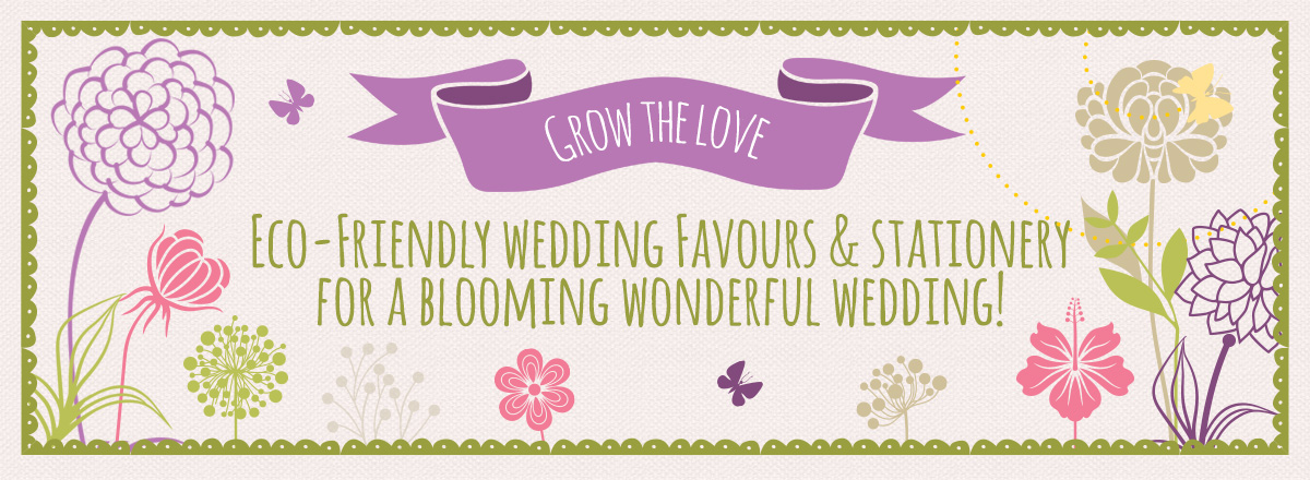 Wildflower Wedding Favours