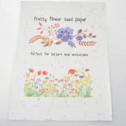 A4 printable seed paper