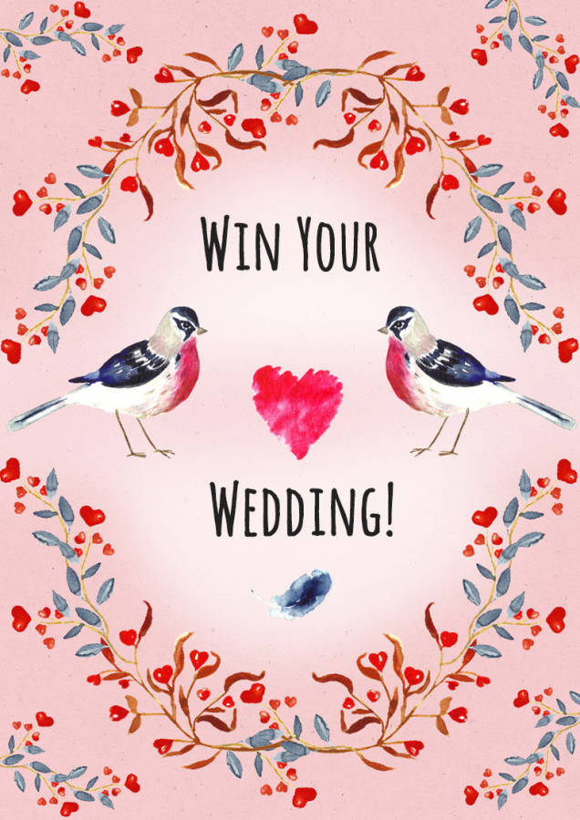 Win your wedding with Wildflower Favours