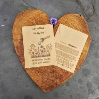 WaterAid charity wedding favour