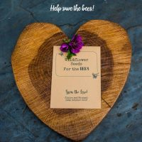 Save the bees wedding favour