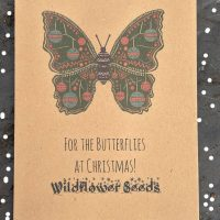 Christmas seeds for butterflies