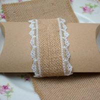 Wedding favour pillow box