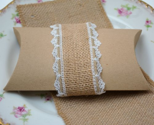 Wedding favour pillow box