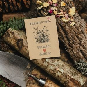 bumblebee conservation trust charity wedding favour