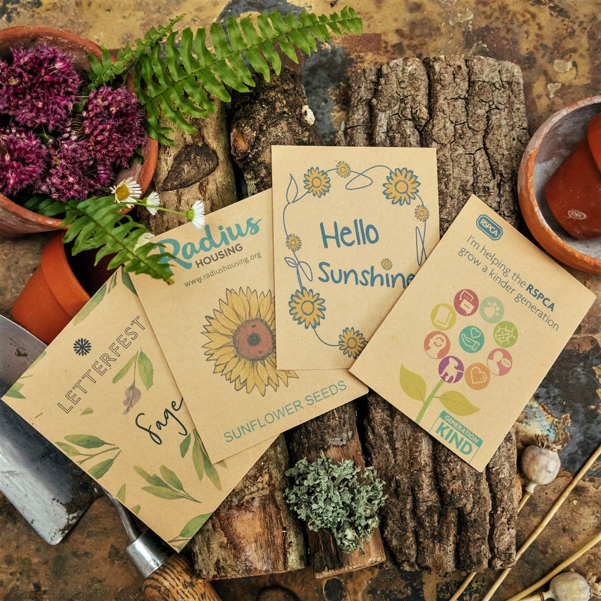Promotional seed packets
