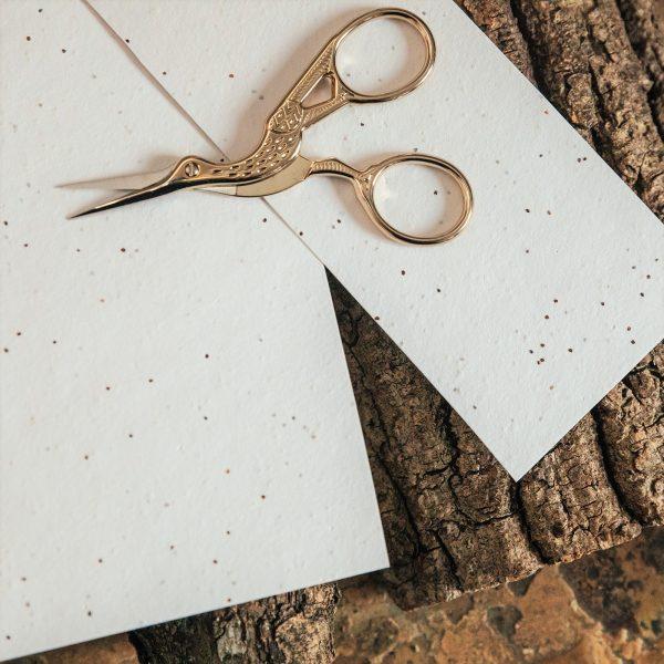 Poppy seed paper