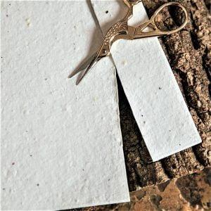 Printable seed paper