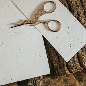Forget-me-not seed paper